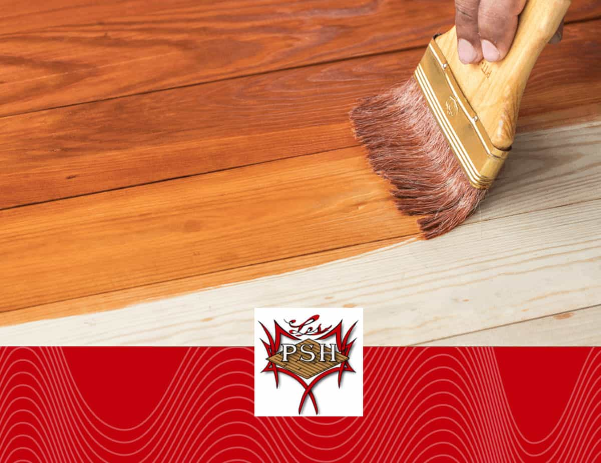 vernissage plancher de bois